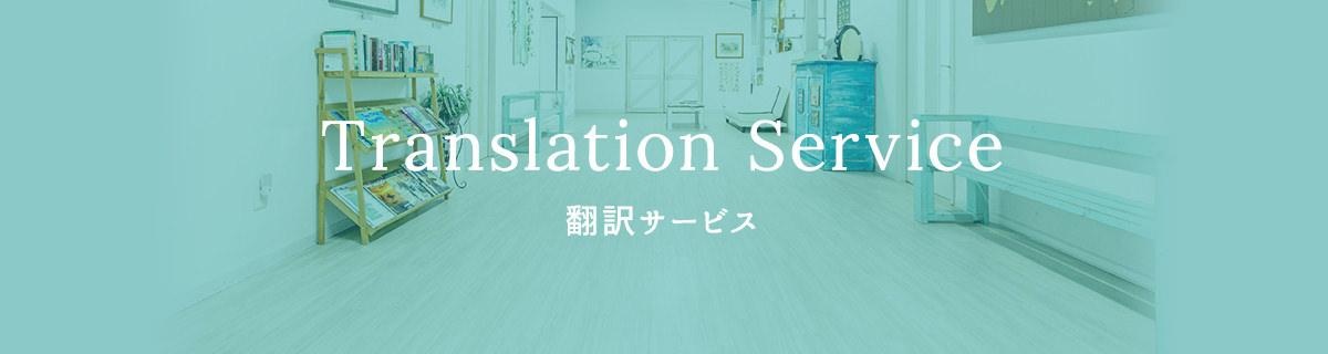 Translation Service 翻訳サービス
